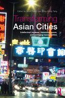 Transforming Asian Cities Pdf/ePub eBook