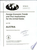 Foreign Economic Trends and Their Implications for the United States