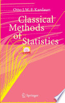 Classical Methods Of Statistics Book PDF
