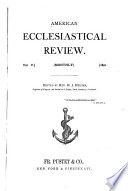 The American Ecclesiastical Review;