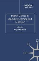 Digital Games in Language Learning and Teaching Pdf/ePub eBook