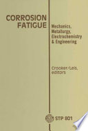 Corrosion Fatigue Book