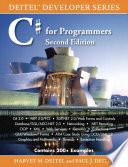 """C# for Programmers"" by Harvey M. Deitel, Paul J. Deitel"