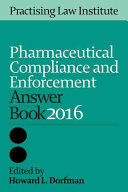 Pharmaceutical Compliance and Enforcement Answer