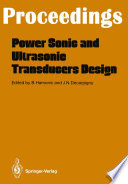 Power Sonic And Ultrasonic Transducers Design Book PDF
