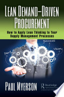 Lean Demand Driven Procurement