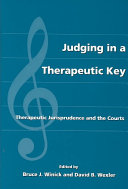 Judging in a Therapeutic Key Book