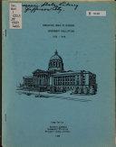 Cumulative Index To Missouri Government Publications 1972 1978