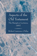 Pdf Aspects of the Old Testament Telecharger