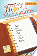 Monday Morning Motivations Book PDF