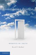 Investigating Pristine Inner Experience