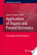 Applications of Organic and Printed Electronics Book