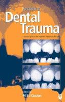 Handbook of Dental Trauma