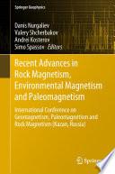 Recent Advances in Rock Magnetism  Environmental Magnetism and Paleomagnetism