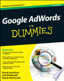 """Google AdWords For Dummies"" by Howie Jacobson, Joel McDonald, Kristie McDonald"