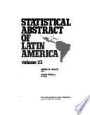 Statistical Abstract of Latin America for ...