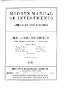 Moody's Manual of Investments, American and Foreign