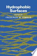Hydrophobic Surfaces Book PDF