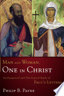Man and Woman  One in Christ