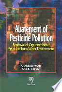 Abatement of Pesticide Pollution