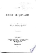 Life of Miguel de Cervantes
