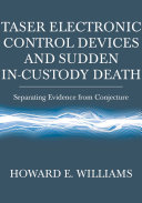 Pdf Taser Electronic Control Devices and Sudden In-custody Death