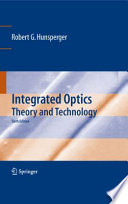 Integrated Optics Book PDF