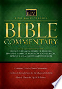 """""""King James Version Bible Commentary"""" by Ed Hindson, Woodrow Kroll, Thomas Nelson"""