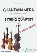 Guantanamera   String Quartet score   parts
