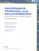 Marriages, Families, and Relationships + Mindtap Sociology, 1 Term - ...