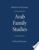 Arab Family Studies