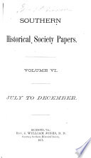 Southern Historical Society Papers