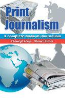 Print Journalism