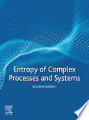 Entropy Of Complex Processes And Systems Book PDF