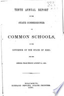 Annual Reports Of The Director Of Education