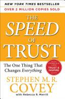 The SPEED of Trust Pdf