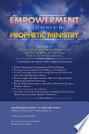 Empowerment And Disciplines Of The Prophetic Ministry