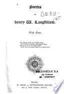Poems of Henry Wadsworth Longfellow Book