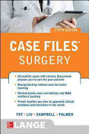 Case Files   Surgery  Fifth Edition Book