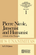 Pdf Pierre Nicole, Jansenist and Humanist Telecharger