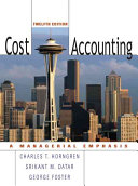 Cost Accounting Book