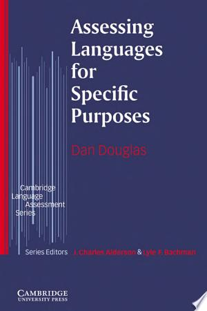 Assessing Languages for Specific Purposes Free eBooks - Free Pdf Epub Online