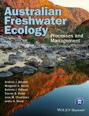 Australian Freshwater Ecology Book PDF