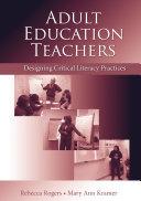 Pdf Adult Education Teachers