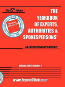 Yearbook of Experts 2008