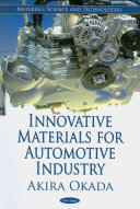 Innovative Materials For Automotive Industry Book PDF