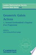 Around Grothendieck S Esquisse D Un Programme