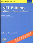 Net Patterns  Architecture  Design  And Process