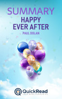 Pdf Happy Ever After by Paul Dolan (Summary)