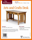 Fine Woodworking s Arts and Crafts Desk Plan